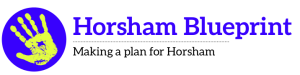 Horsham Blueprint new logo